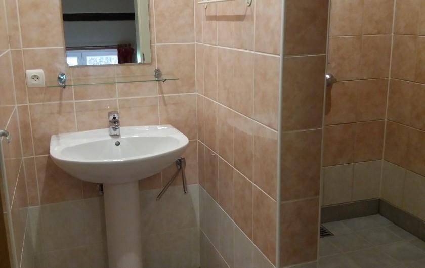 Location de vacances - Gîte à Haut-Fays - Terrasse privée de la chevauchée