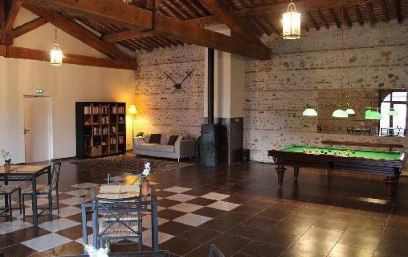 Location de vacances - Gîte à Thuir - Salle Vallespir Salle des petits déjeuners des chambres d'hôtes