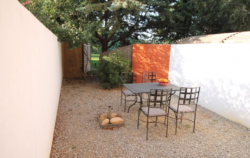 Location de vacances - Gîte à Thuir - Jardin privé - Gîte Ribéral