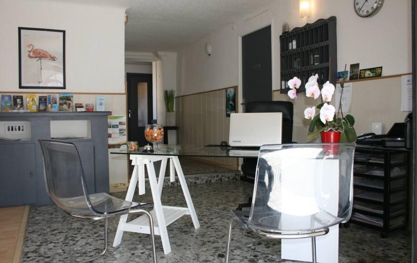 Location de vacances - Hôtel - Auberge à Frontignan - Salle des petits déjeuners.