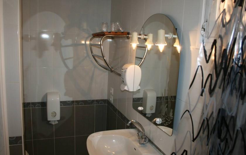 Location de vacances - Hôtel - Auberge à Frontignan - Salle de bain.