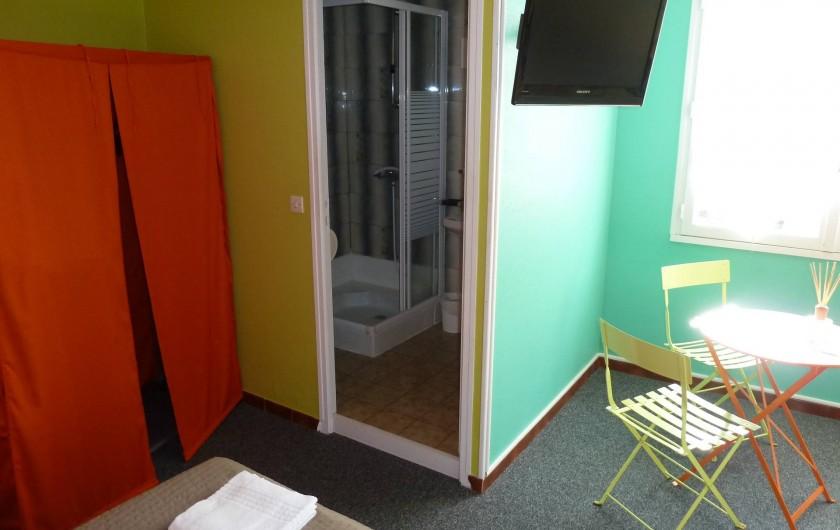 Location de vacances - Hôtel - Auberge à Frontignan - Chambre Double au 1er étage.