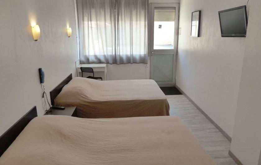 Location de vacances - Hôtel - Auberge à Frontignan - Chambre Double en rez-de-chaussée avec terrasse.