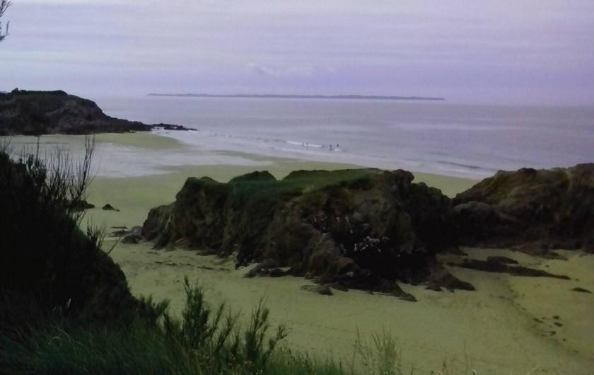Location de vacances - Gîte à Quimperlé - Plage du Kérou