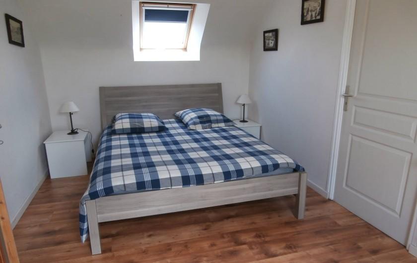 Location de vacances - Gîte à Quimperlé - Chambre avec lit 160 x 200
