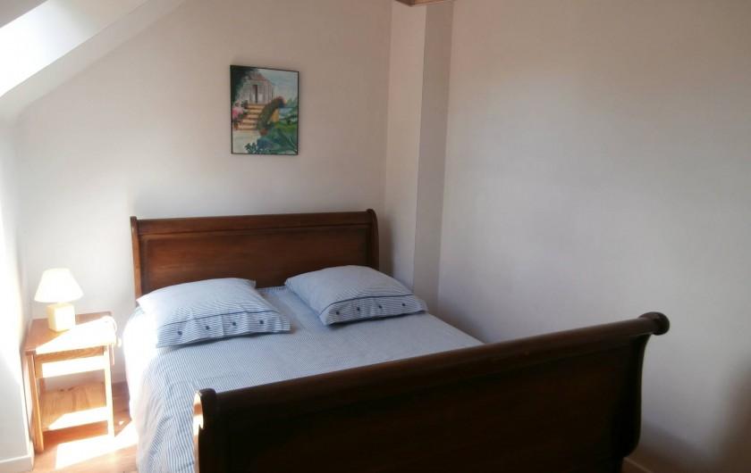 Location de vacances - Gîte à Quimperlé - Chambre avec lit 140 x 190