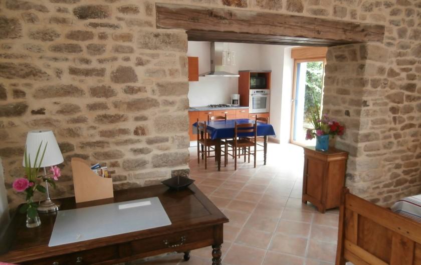 Location de vacances - Gîte à Quimperlé - Séjour / cuisine