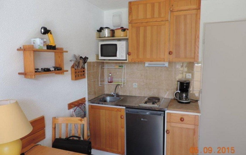 Location de vacances - Studio à Les Deux Alpes - coin cuisine