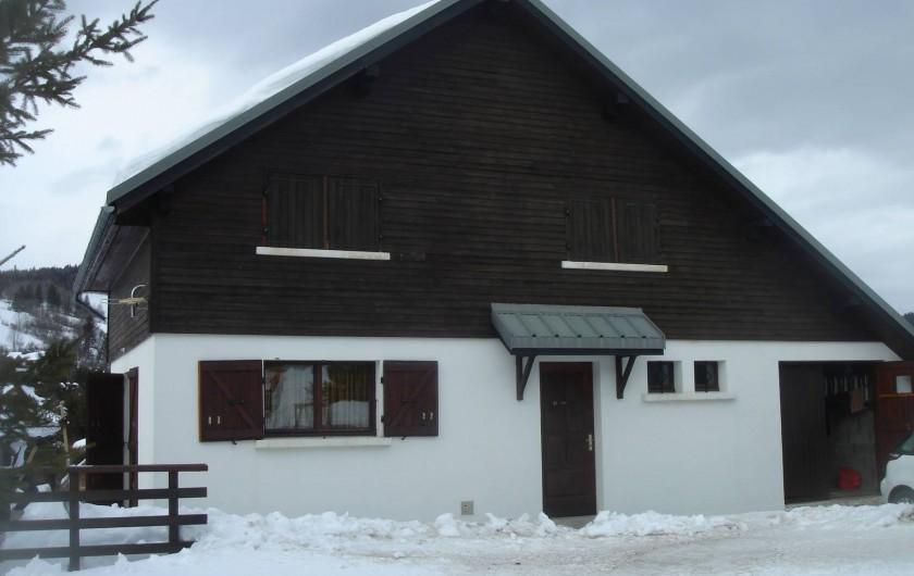 Location de vacances - Chalet à Corrençon-en-Vercors - Vue générale
