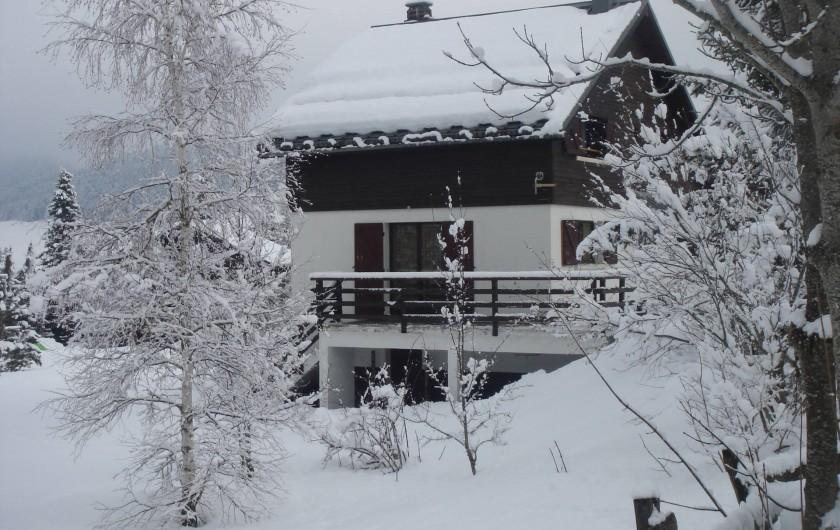 Location de vacances - Chalet à Corrençon-en-Vercors - Vue depuis le Sud