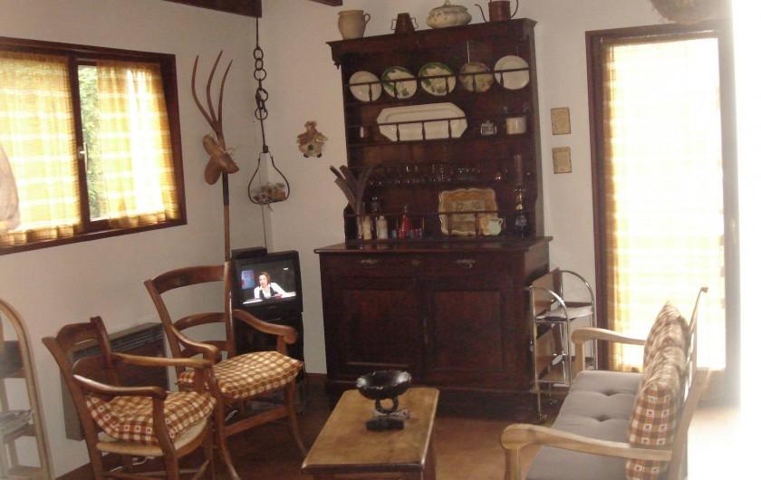 Location de vacances - Chalet à Corrençon-en-Vercors - Coin salon
