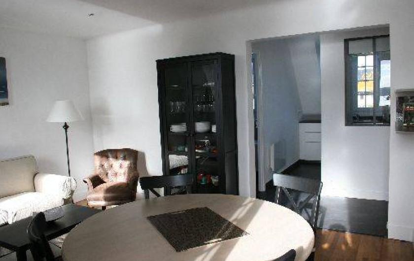 Location de vacances - Appartement à Saint-Malo - Le salon