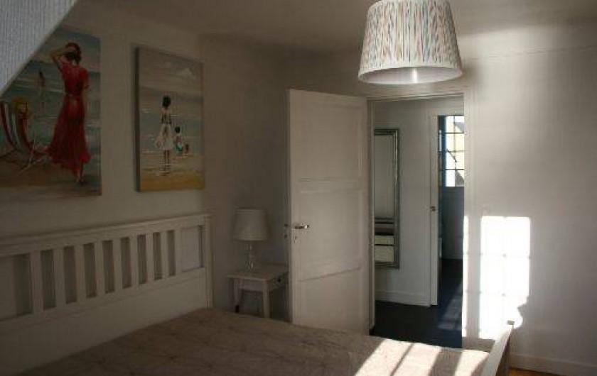 Location de vacances - Appartement à Saint-Malo - La chambre double