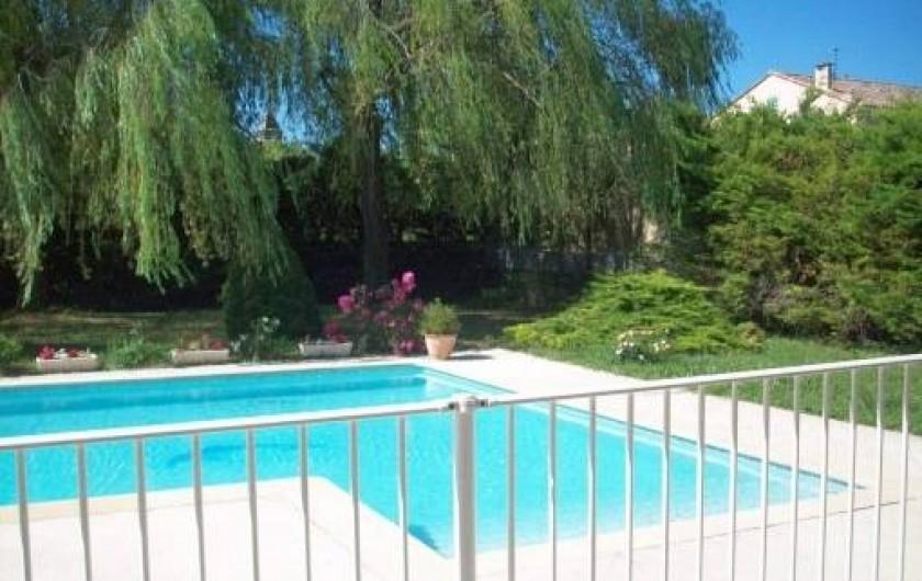 Location de vacances - Villa à Allègre-les-Fumades - Piscine sécurisée