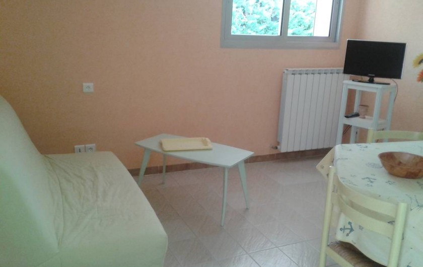 Location de vacances - Villa à Allègre-les-Fumades - Coin salon
