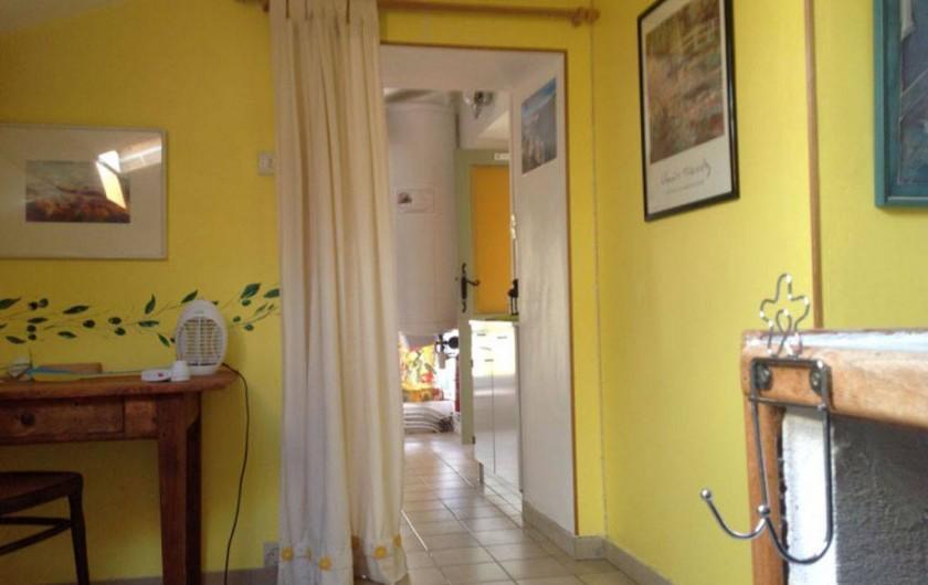 Location de vacances - Appartement à Mirabel - Vue sur l'entré