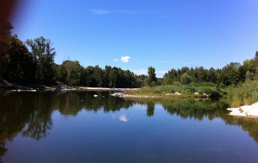 Location de vacances - Appartement à Mirabel - Ardèche à Vogüé