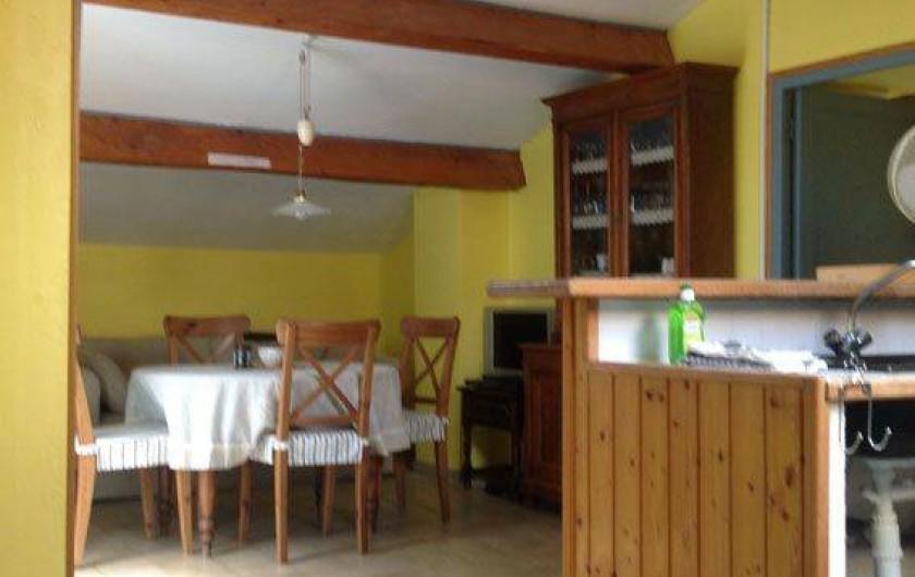 Location de vacances - Appartement à Mirabel - Cuisine et salle a manger