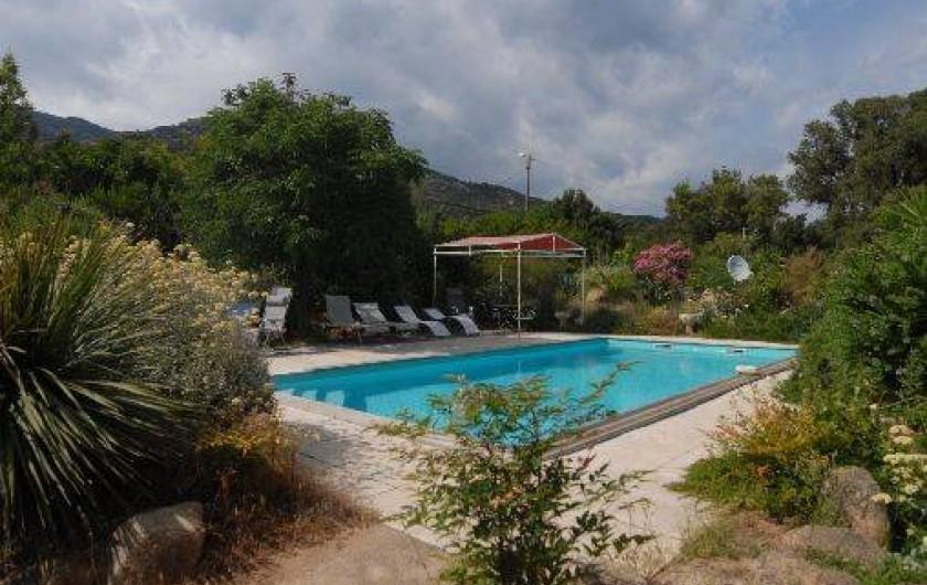 Chambres d 39 h tes dans deux villas r centes porto vecchio en corse avec piscine corse du sud - Chambre d hote porto portugal ...
