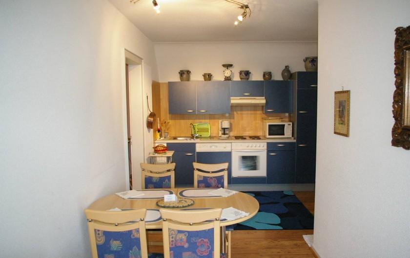 """Location de vacances - Appartement à Thannenkirch - cuisine  séjour 2em étage          """"LE SAPIN"""""""