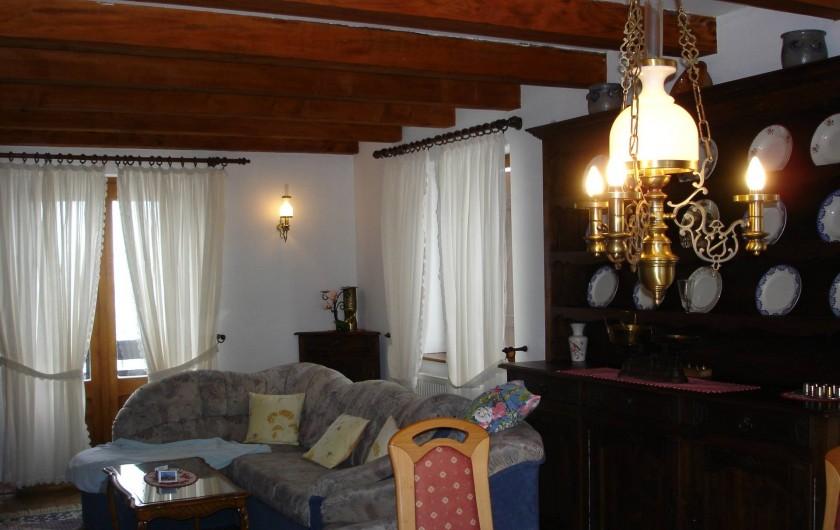 """Location de vacances - Appartement à Thannenkirch - Séjour """"LE BOULEAU""""            avec Balcon"""