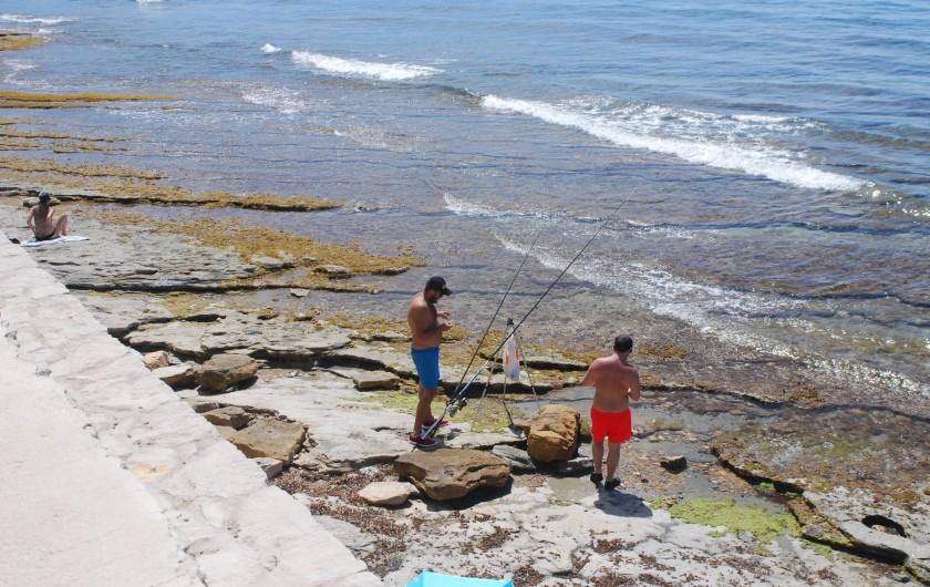 Location de vacances - Appartement à La Ciotat - Pêche ou baignade?