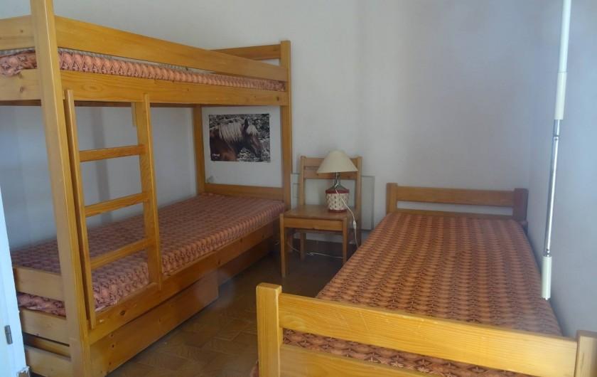Location de vacances - Appartement à La Ciotat - Chambre 2