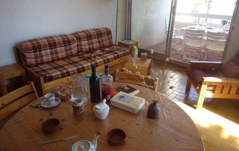 Location de vacances - Appartement à La Ciotat - Autre partie du séjour