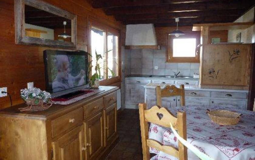 Location de vacances - Chalet à Xonrupt-Longemer - Pièce à vivre