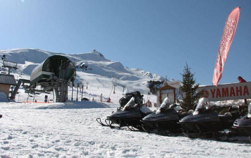 Location de vacances - Chalet à Saint-Pancrace - POSSIBILITE DE LOUER DES MOTOS NEIGE