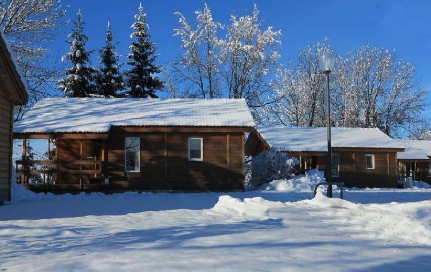 Location de vacances - Chalet à Saint-Laurent-en-Grandvaux - Location de chalet toutes saisons