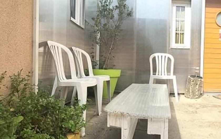 Location de vacances - Villa à Aubervilliers - Jardinet