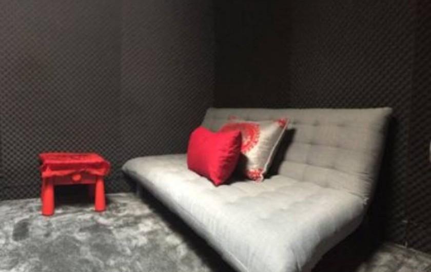 Location de vacances - Villa à Aubervilliers - Chambre 3 studio de musique avec clic clac