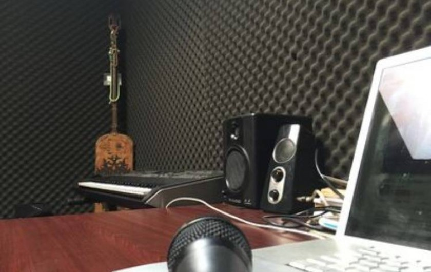 Location de vacances - Villa à Aubervilliers - Chambre 3 studio de musique