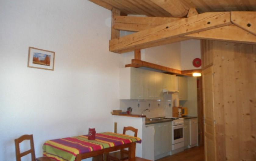 Location de vacances - Appartement à Bonneval-sur-Arc - Canapé lit pour 2 personnes