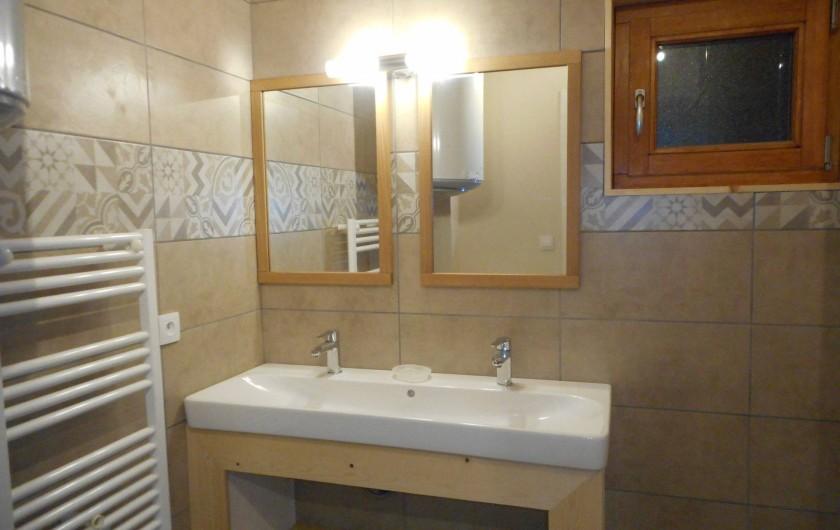 Location de vacances - Appartement à Bonneval-sur-Arc - Salle d'eau