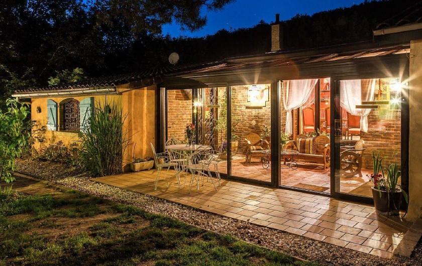 Location de vacances - Villa à Souillac - vue sur jardin