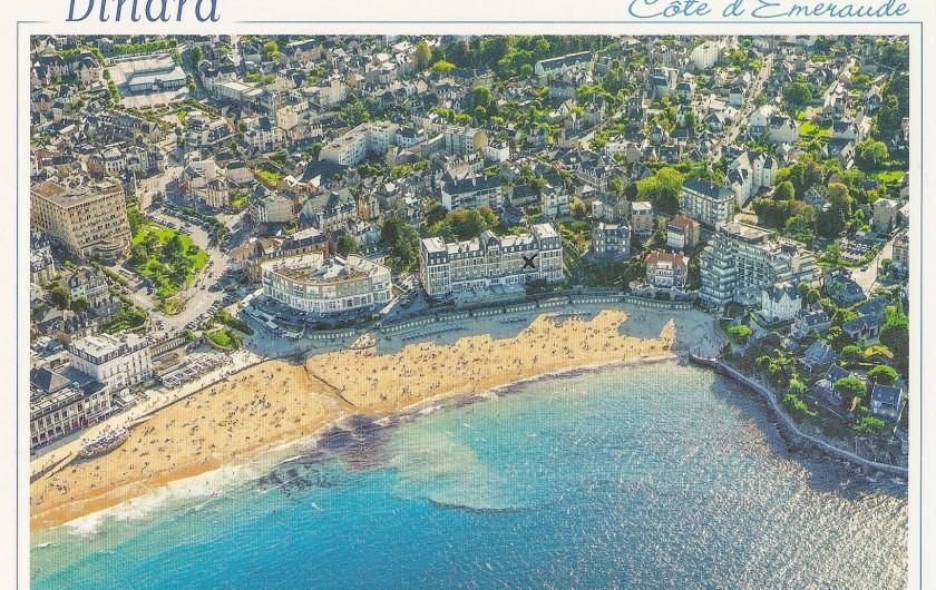 Location de vacances - Appartement à Dinard - vue aerienne