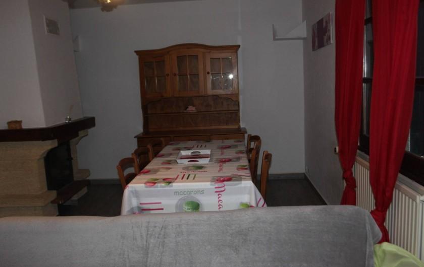 Location de vacances - Maison - Villa à Rosières - salle à manger