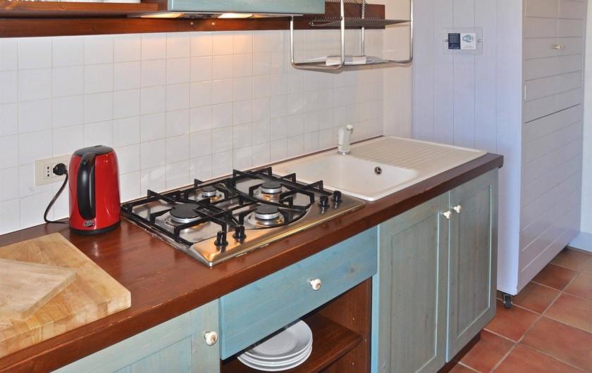 """Location de vacances - Appartement à Castiglione del Lago - Coin cuisine app. """"Saturno"""""""