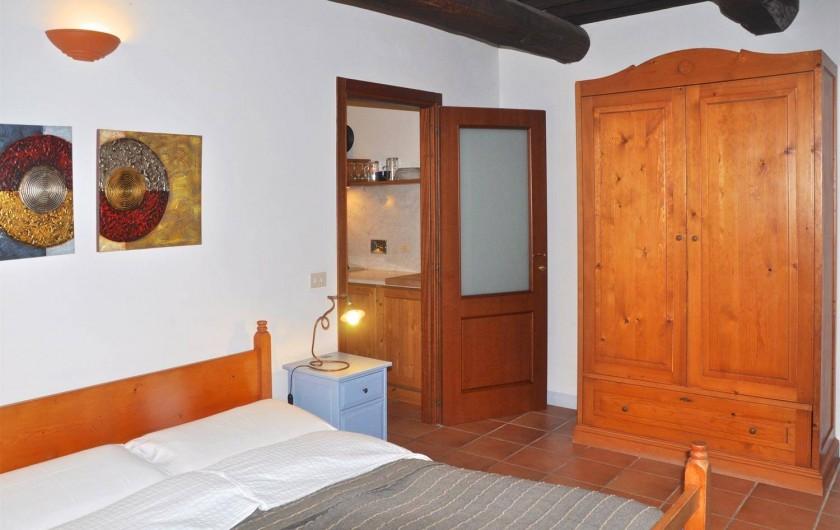 """Location de vacances - Appartement à Castiglione del Lago - Chambre à coucher app. """"Mercurio"""""""