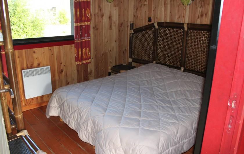 Location de vacances - Insolite à Hermival-les-Vaux - Chambre double Lodges