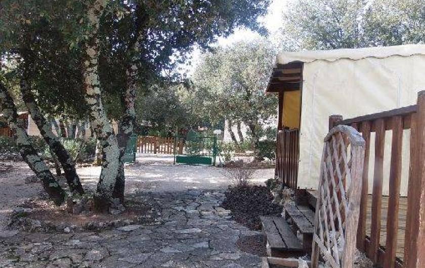 Location de vacances - Camping à Orgnac-l'Aven
