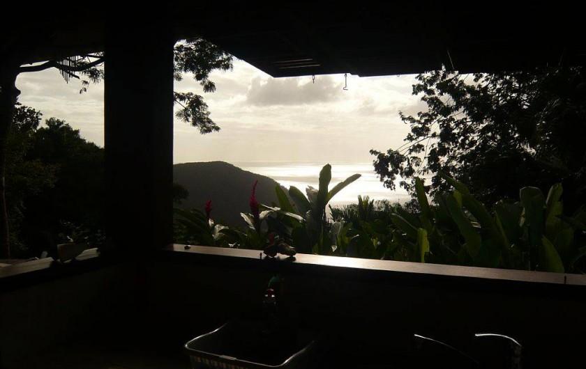 Location de vacances - Gîte à Pointe Noire - De la cuisine