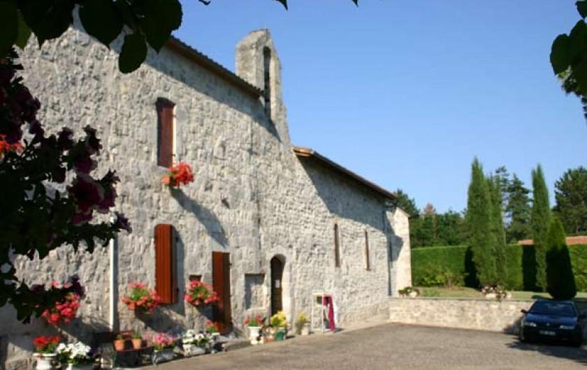 Location de vacances - Chalet à Pompiey - église de POMPIEY