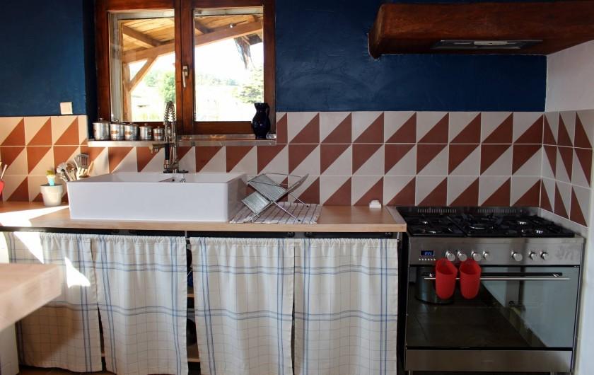 Location de vacances - Gîte à Coucouron - Lave vaisselle, lave linge, cafetière, mixer...