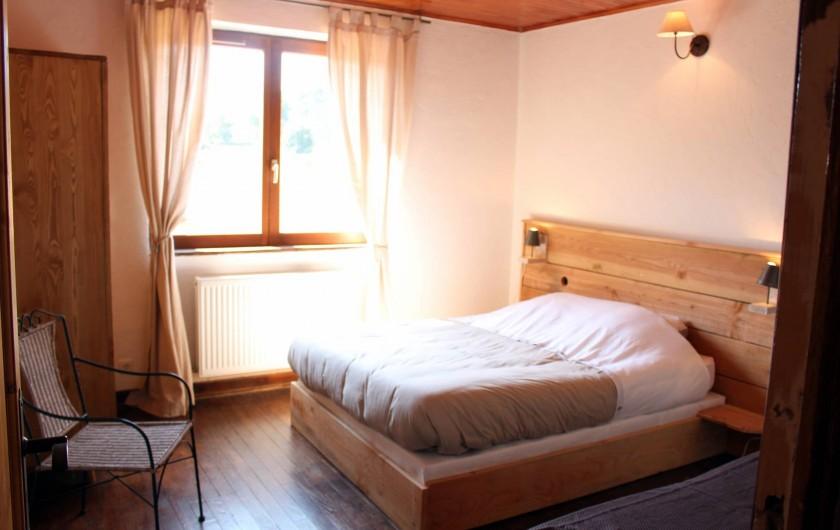 Location de vacances - Gîte à Coucouron - Lit en 140 et lit en 90