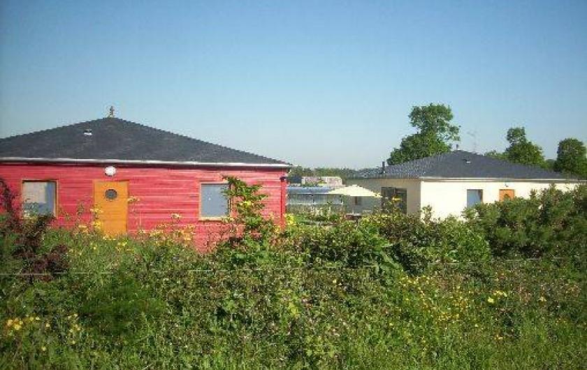 Location de vacances - Gîte à La Chapelle-aux-Filtzméens - Les 2 maisons sur le terrain