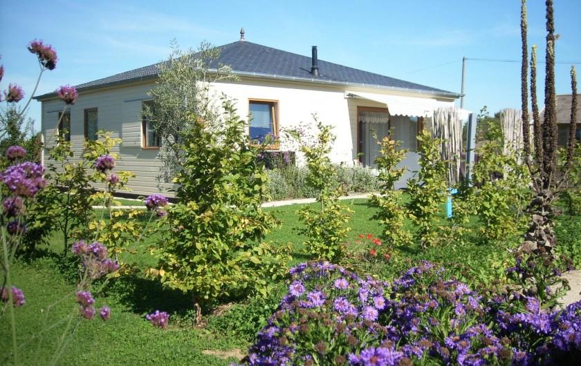Location de vacances - Gîte à La Chapelle-aux-Filtzméens - La maison terre d'argile