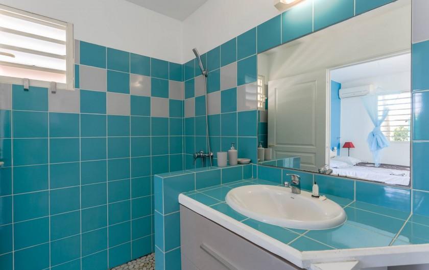 Location de vacances - Bungalow - Mobilhome à Saint-François - Salle de bain